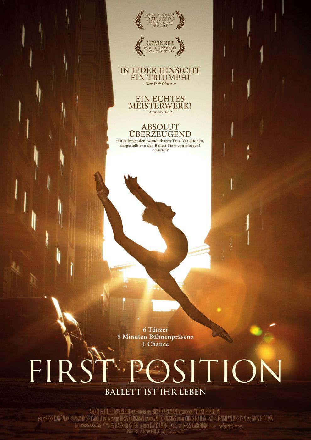 First Position Ballett Ist Ihr Leben