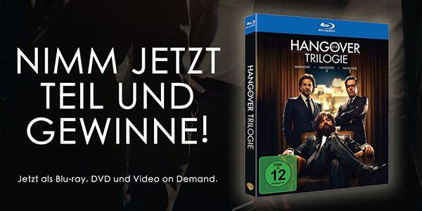 Hangover Trilogie - Blu-ray zu gewinnen!