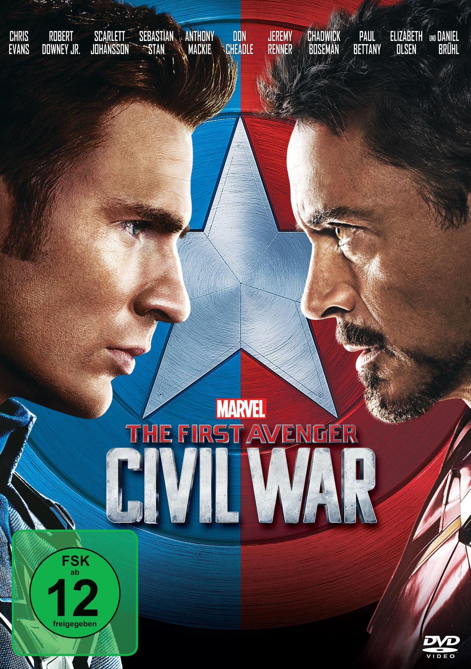 The First Avenger  U2013 Civil War