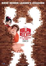 Ralph reicht's 3D - Filmposter