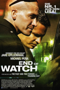 End Of Watch Hauptplakat