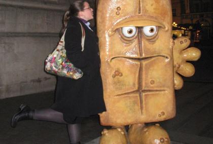 Anna und Bernd das Brot