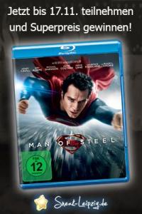 Man of Steel - Blu-ray Gewinnspiel