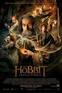 Der Hobbit Smaugs Einöde Hauptplakat