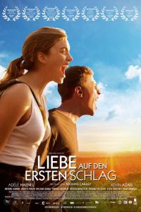 Das deutsche Kinoposter zu 'Liebe auf den ersten Schlag' (Copyright: Tiberius Film, 2015)