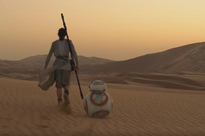 Szenenbild aus Star Wars - Das Erwachen der Macht