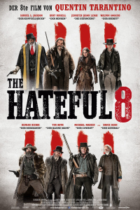 Das deutsche Kinoposter zu 'The Hateful Eight'. (Copyright: The Weinstein Company, Photo: Andrew Cooper (SMPSP), 2015)