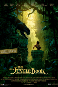 Das deutsche Kinoplakat zu 'The Jungle Book'. (Copyright: Disney Enterprises, Inc., 2015)