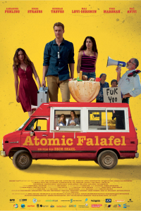 Das deutsche Cover zu 'Atomic Falafel'. (Copyright: Movienet, 2015)