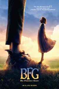 Das deutsche Poster zu 'BFG: Big Friendly Giant'. (Copyright: Constantin Film Verleih GmbH, 2016)