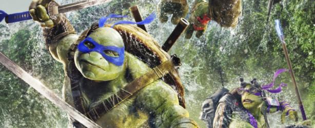 Das deutsche Poster zu 'Teenage Mutant Ninja Turtles 2'. (Copyright: Paramount Pictures, 2016)