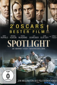 Das deutsche Cover zu 'Spotlight'. (Copyright: Universal Pictures Germany, 2015)