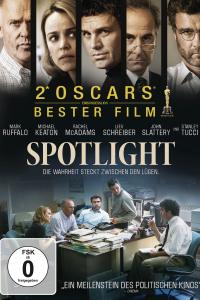 Das deutsche Cover zu 'Spotlight'. (Copyright: Universal Pictures Germany, 2015)