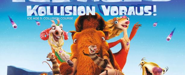 Das deutsche Cover zu 'Ice Age 5 - Kollision Vorraus'. (Copyright: Twentieth Century Fox Home Entertainment, 2016)