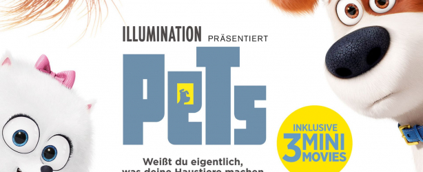 Das deutsche Cover zu 'Pets'. (Copyright: Universal Home Entertainment, 2016)