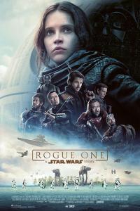 Das deutsche Plakat zu 'Star Wars: Rogue One' (Copyright: Walt Disney, 2016)