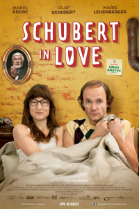 Das deutsche Plakat zu 'Schubert in Love' (Copyright: Wild Bunch, 2016)