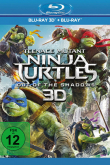 Das deutsche Cover zu 'Teenage Mutant Ninja Turtles: Out of the Shadows' (Copyright: Paramount Pictures, 2016)