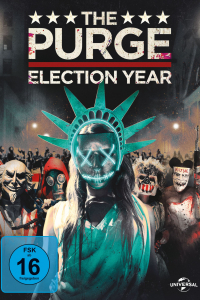 Das deutsche Cover zu 'The Purge: Election Year' (2016) (Copyright: Universal Pictures, 2016)