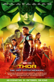 Das deutsche Poster zu 'Thor: Tag der Entscheidung' (2017) (Copyright: Walt Disney Studios Motion Pictures, 2017)