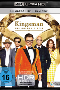 Das deutsche Cover zu 'Kingsman 2: The Golden Circle' (2017) (Copyright: 20th Century Fox Home Entertainment, 2017)