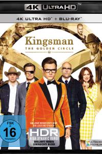 Das deutsche Cover zu 'Kingsman 2: The Golden Circle' (2017) (Copyright: 20th Century Fox Home Entertainment, 2017)