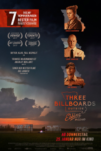 Das deutsche Plakat zu 'Three Billboards Outside Ebbing, Missouri' (2017) (Copyright: Fox Searchlight Pictures, 2017)