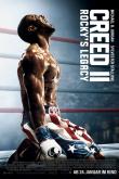 Das deutsche Plakat zu 'Creed II' (2018) (Copyright: Warner Bros., 2018)