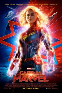 Das deutsche Plakat zu 'Captain Marvel' (2019) (Copyright: Walt Disney, 2019)